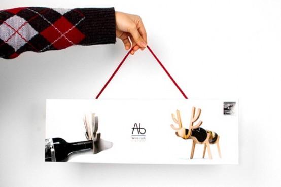 Funny Animal Wine Racks By Conte Bleu - DigsDi