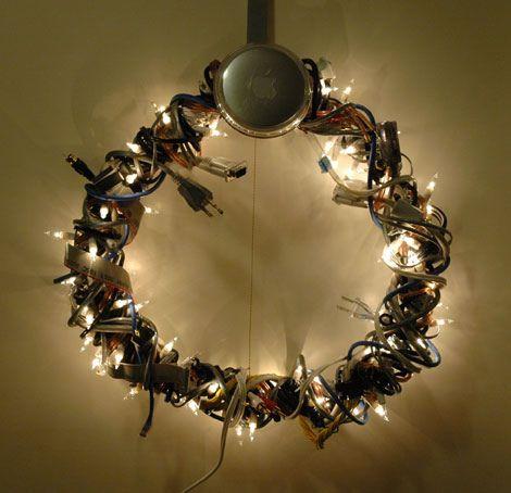 Funny Geek Christmas Wreaths | Christmas wreaths diy, Geek .