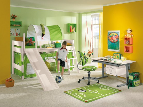 Funny Play Beds for Cool Kids Room Design by Paidi .