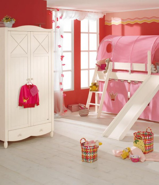 Funny Play Beds for Cool Kids Room Design by Paidi - DigsDi