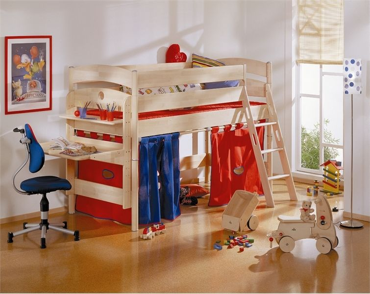 Funny Play Beds for Cool Kids Room Design by Paidi | DigsDigs .