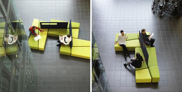 ART DESIGN: Practical Diagonal Lobby Furniture for Indoor Public .