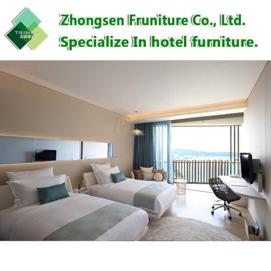 China Custom Made Modern Wooden Laminate Upholstered Hilton Hotel .
