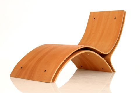 Trio by Dana Sarel from Israel is a chair, made from 3 laminated .