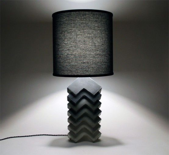 Fusion Of Industrial And Traditional: Theo Table Lamp   Lamp .
