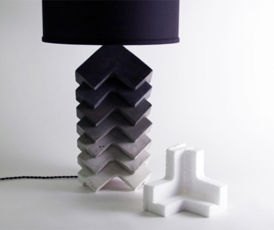 Fusion Of Industrial And Traditional: Theo Table Lamp - DigsDi
