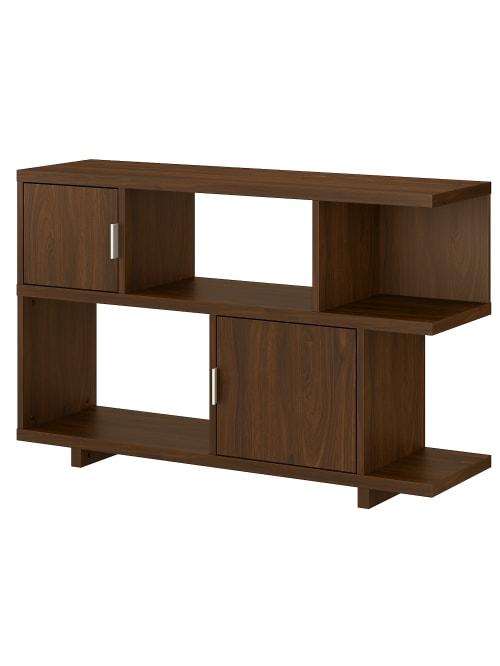 kathy ireland Madison Avenue Bookcase Walnut - Office Dep