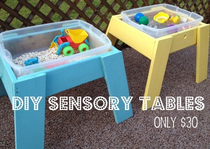 DIY Sensory Tables For Kids | Kidsoman