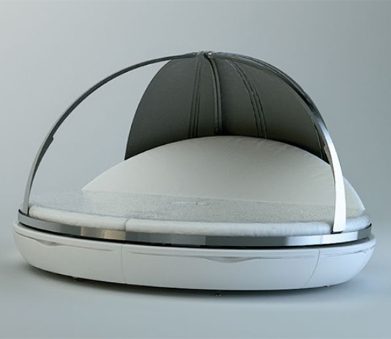 Futuristic Day Bed For Maximum Relaxation - DigsDi