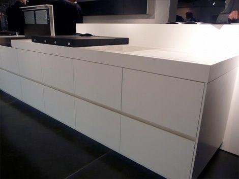 Futuristic Kitchen Design by Eggersmann   Kitchen design, White .