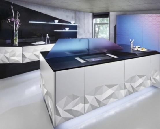 futuristic kitchen Archives - DigsDi