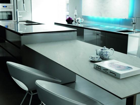 Futuristic Kitchen Design from Italy by Toncelli - Decor Repo