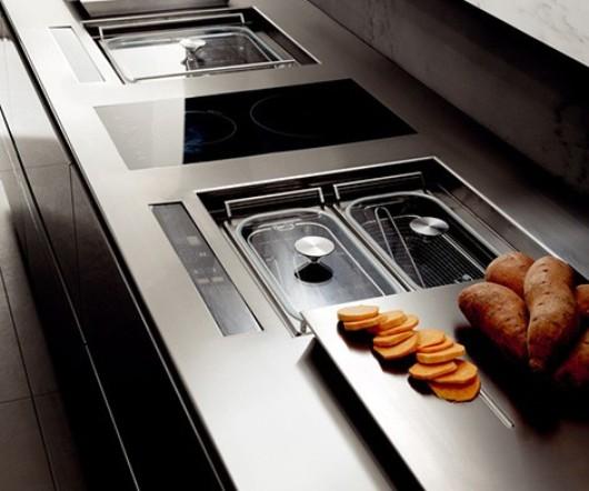 Modern Kitchen: Essential Wind by Toncelli | interi