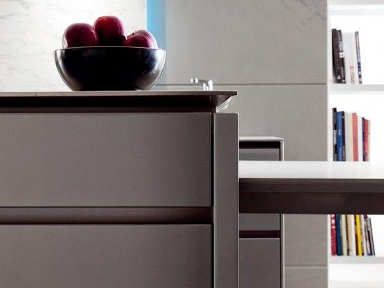 Futuristic Kitchen Design from Italy by Toncelli | Home decor .