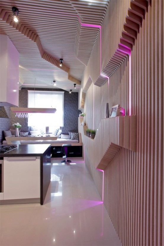 Futuristic Kitchen Design With Smart Space-Saving Solutions - DigsDi
