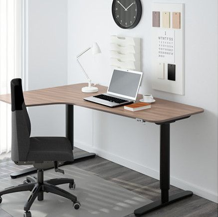 L shaped desk to boost productivity. Here are 6 ideas. - IKEA .