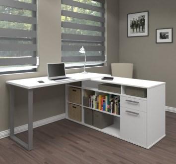 36 Futuristic L Shaped Desk Design Ideas | HomeDecori