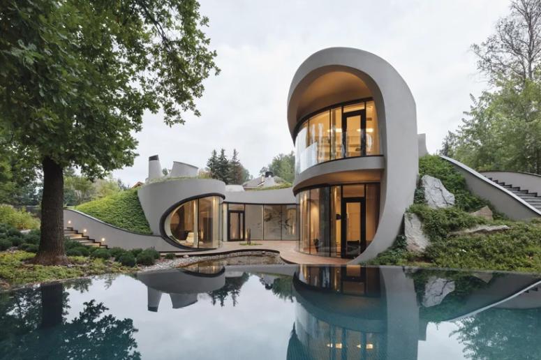 futuristic house Archives - DigsDi