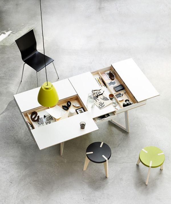 15 Futuristic Compact Tables | House Design And Decor | Desk .