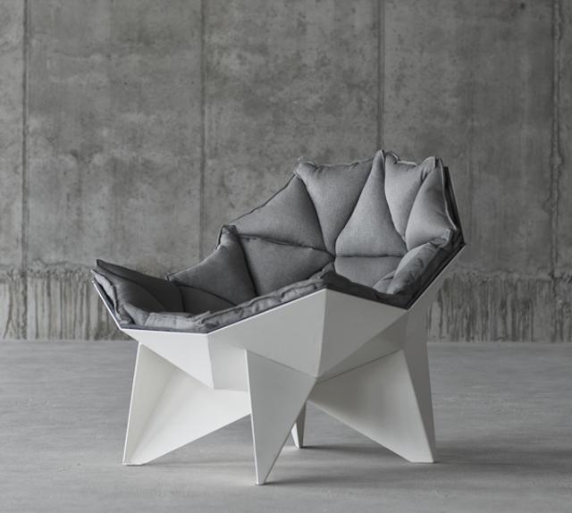 Beautiful Spherical and Geometric Chair – Fubiz Med