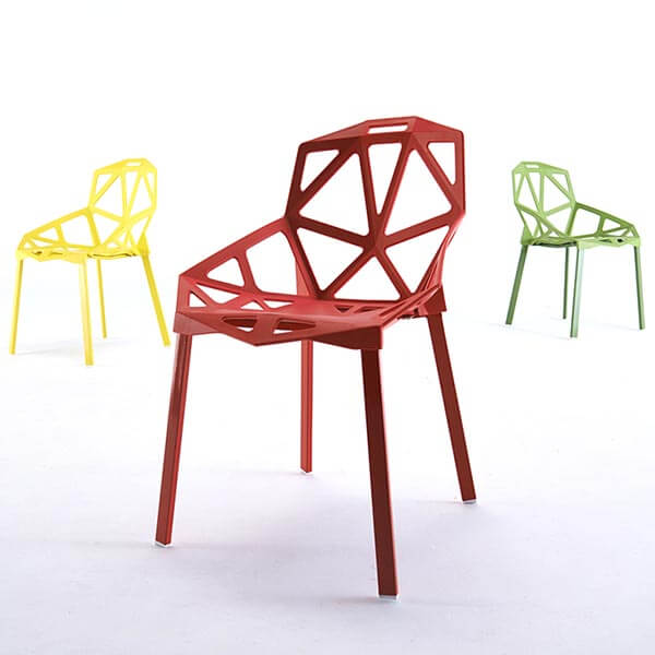 Plastic Geometric Chair | Replica Grcic Chair One | Norp
