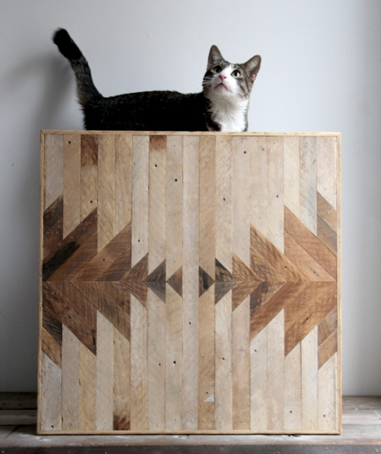 Geometric Wood Panels To Decorate Your Walls By Ariele - DigsDi