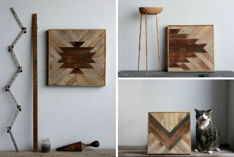 Geometric Wood Panels To Decorate Your Walls By Ariele | Wood .