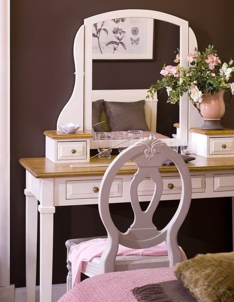 pink and chocolate girl room (With images)   Girl bedroom dec