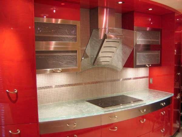 Encimeras de Cristal, Diseño Creativo y Funcionalidad en la Cocina .