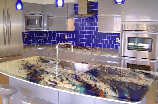 Cool Kitchen Designs With Glass Tops by ThinkGlass | Unique .