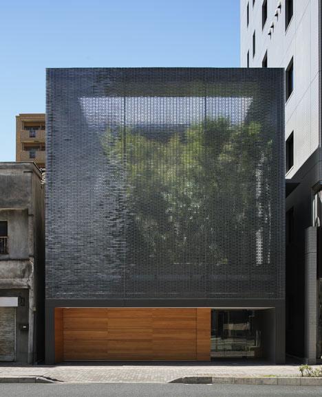Optical Glass House by Hiroshi Nakamura & N