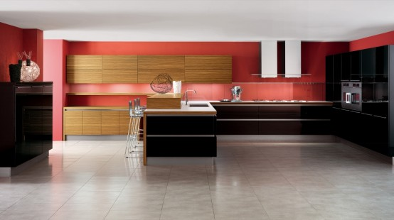 25 Modern Kitchens In Wooden Finish - DigsDi
