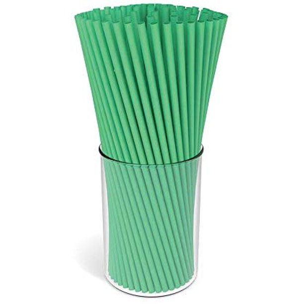 150-Pack Bio-Straws - Eco-Friendly, 100% Compostable and .