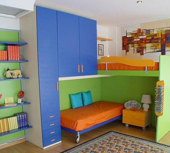 7 Smart Solutions for Small Children Room Layout   Modern kids .