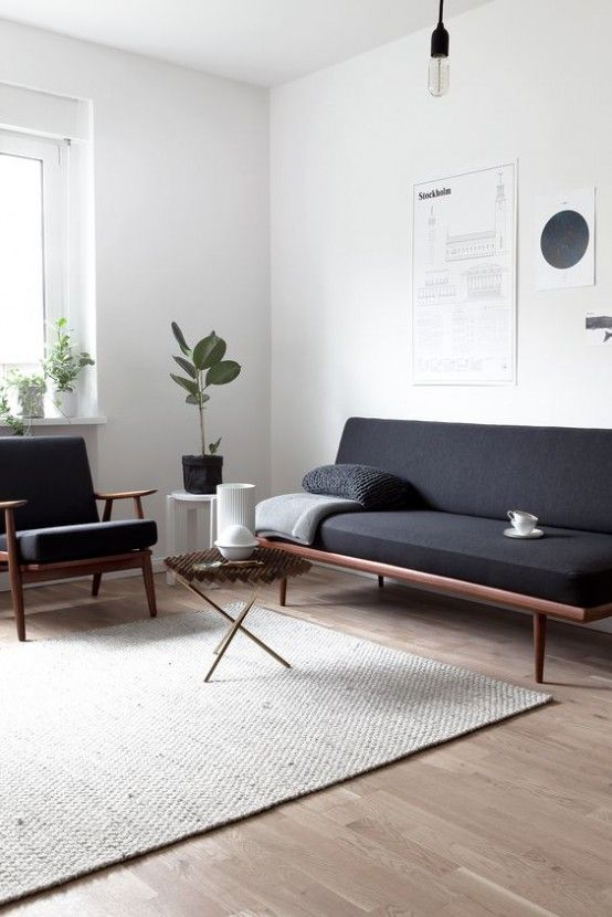 35 Gorgeous Airy Mid-Century Modern Living Rooms (With images .