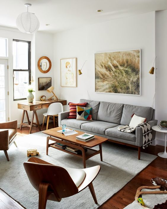 Top 5 mid-century living rooms | Perfect living room, Living room .