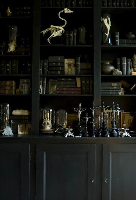 21 Gorgeous Gothic Home Office And Library Décor Ideas | DigsDigs .