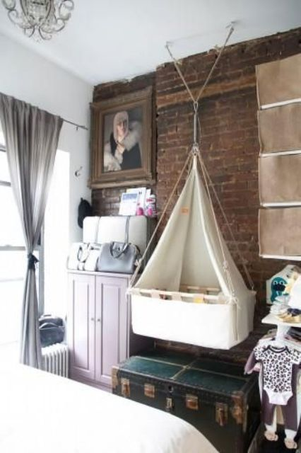 27 Gorgeous Suspended Cradles For Your Baby - DigsDi