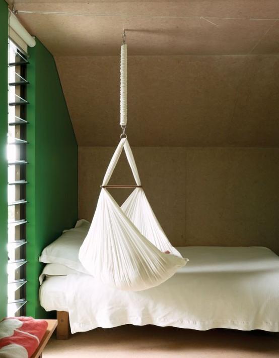 27 Gorgeous Suspended Cradles For Your Baby | Изысканная спальня .