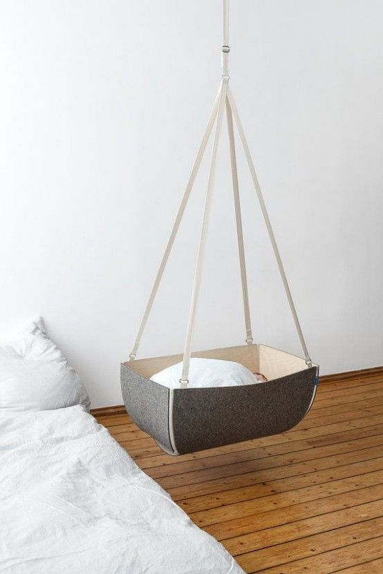 27 Gorgeous Suspended Cradles For Your Baby | DigsDigs | Hanging .