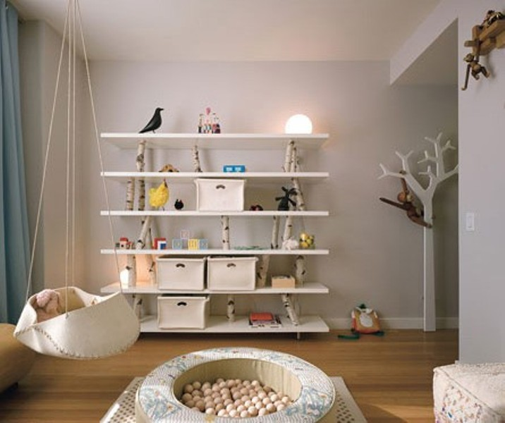 7 Charming White Suspended Cradles To Make Your Baby Happy .