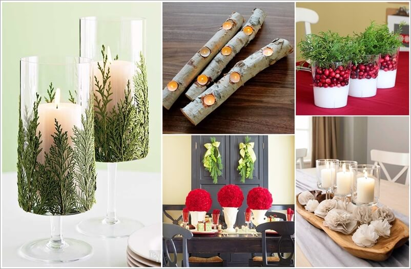 25+ Easy Christmas Centerpiece Ideas for You to T