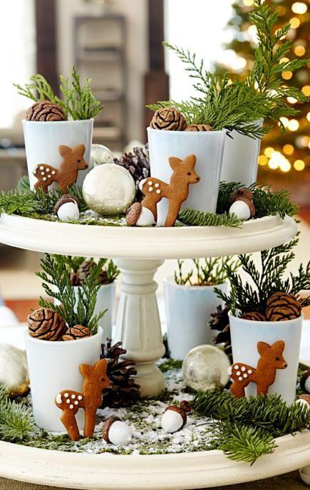 50 Easy Christmas Centerpiece Ideas | Christmas centerpieces diy .