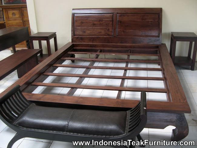 Wooden Bed Furniture from Indonesia Bedroom Furniture from Indones