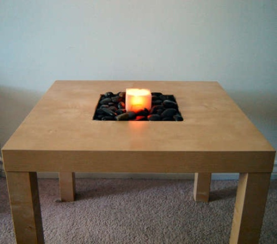 32 Great Ways To Include IKEA Lack Table Into Home Décor - DigsDi