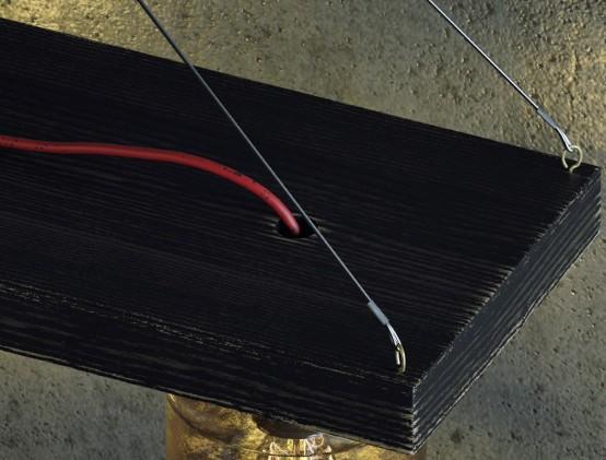 Grungy Industrial Jar Lamp For Men's Caves - DigsDi
