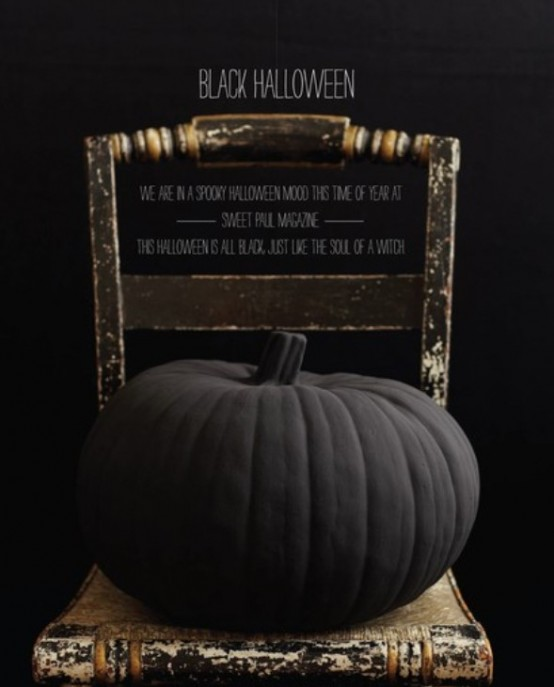 Halloween In Black – The Most Stylish And Scary Party Ever - DigsDi