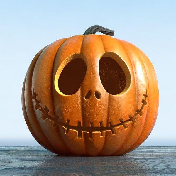 3d set jack o lanterns jack model | Pumpkin carving, Amazing .