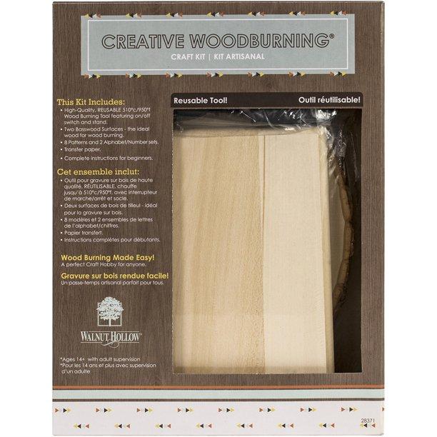 Creative Woodburning Craft Kit I- - Walmart.com - Walmart.c