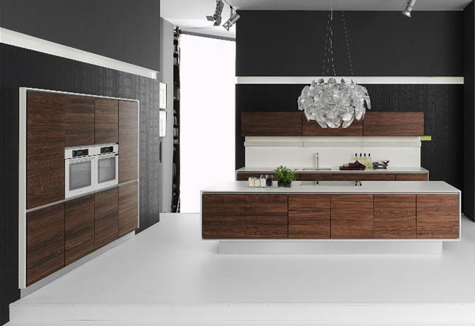 Modern Natural Kitchen Design Handle Less Vao | lisamuani